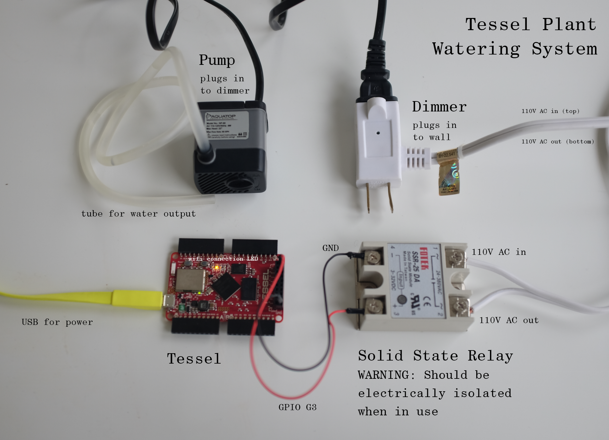 Rele solido together with Raspberry Pi Controlling A Relay furthermore Tessel Powered Plant Watering System further Sun Tracking Solar Panel likewise Modify The Hc 05 Bluetooth Module Defaults Using At  mands. on 3v relay circuit